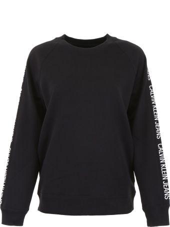 Calvin Klein Jeans Sweatshirt With Logo Bands