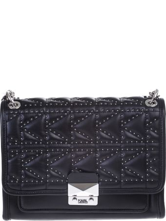 Karl Lagerfeld K / KUILTED leather bag