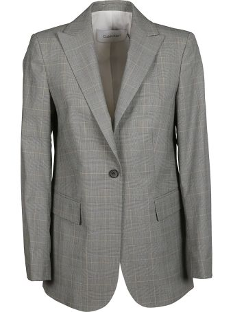 Calvin Klein Tailored Checked Jacket