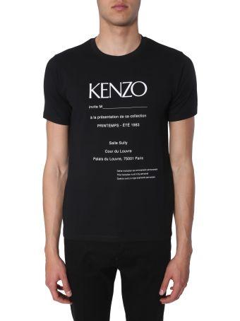 Kenzo Cotton-blend Crewneck T-shirt