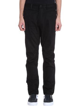 Maharishi Custom Black Cotton Pants