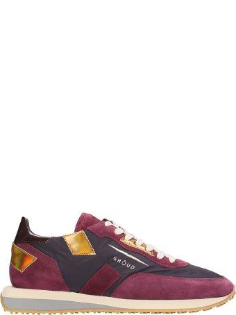 GHOUD Rush Burgundy Sneakers