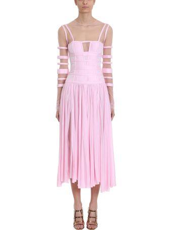 Giovanni Bbedin Long-sleeve Midi Dress