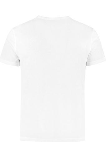 Alexander McQueen Logo Print Cotton T-shirt