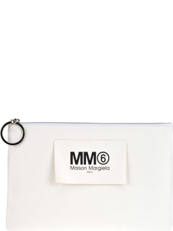 MM6 Maison Margiela Mm6 Clutch Maxi Etichetta