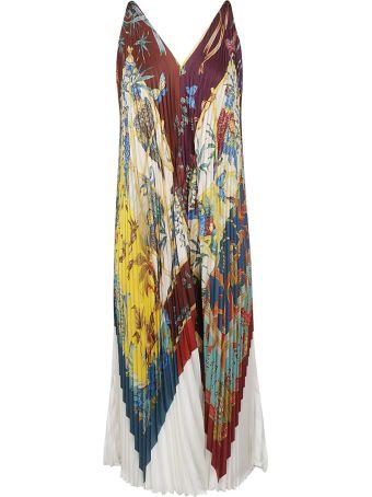Salvatore Ferragamo Pleated Dress