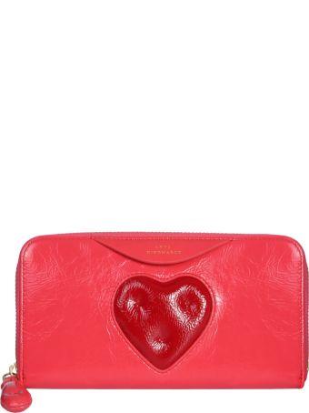 Anya Hindmarch Zip Around Chubby Heart Wallet