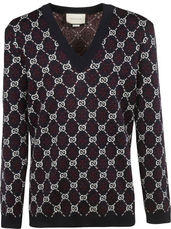 Gucci Diamond Interlocking Gg Sweater