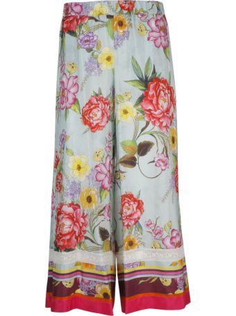 Parosh P.a.r.o.s.h. Floral Print Trousers