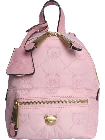 Moschino Teddy Bear Quilted Backpack