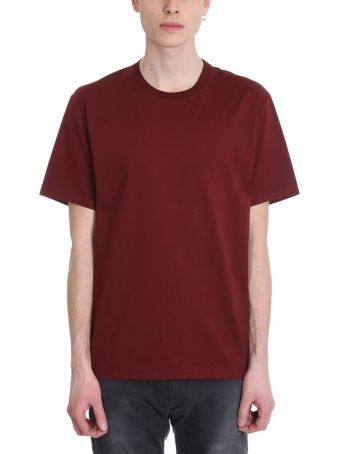 Attachment Bordeaux Cotton T-shirt
