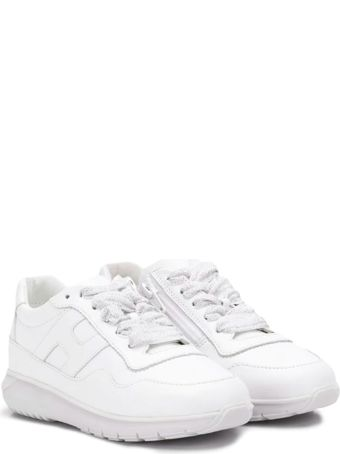 Hogan White Sneakers Baby