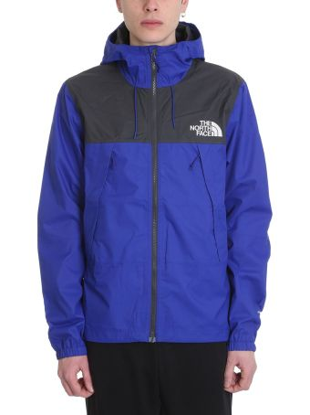 The North Face 1990 Mnt Blue/grey Technical Fabric Jacket