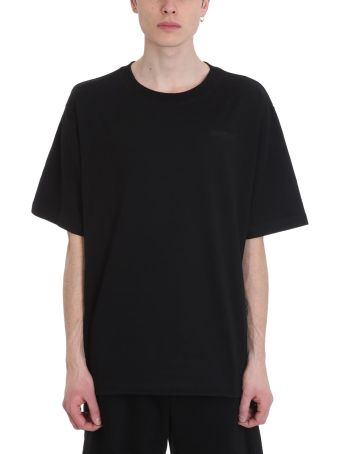 Ben Taverniti Unravel Project Black Cotton T-shirt