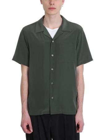 Attachment Green Polyester Shirt