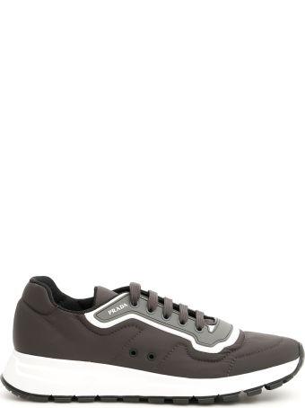 Prada Soft Gabardine Sneakers