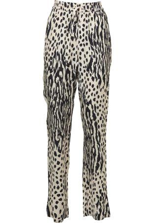 Essentiel Leopard Print Trousers
