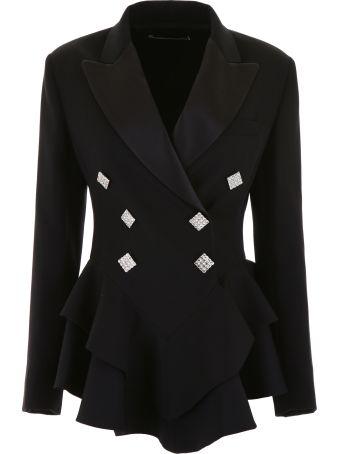 Alessandra Rich Crystal-embellished Blazer