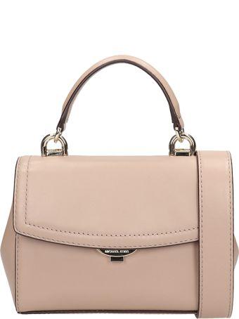 Michael Kors Pink Leather Satchel Bag