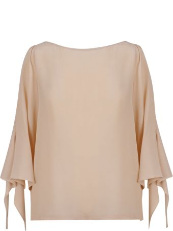 SEMICOUTURE Wide Neck Blouse