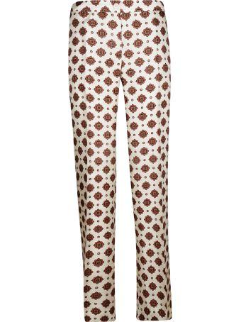 Alberto Biani Patterned Trousers