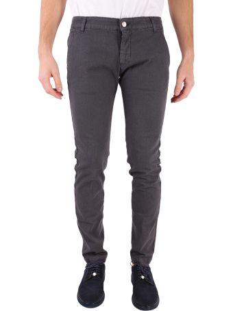 Entre Amis Cotton Blend Trousers