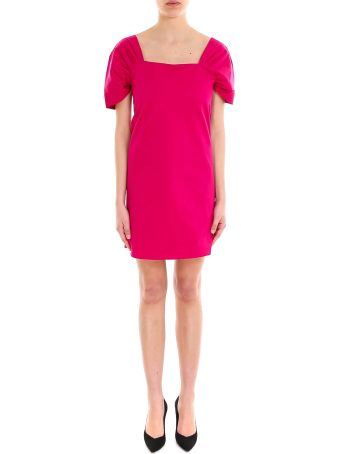 Theory Draped Slv Dress