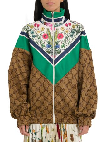 Gucci Multicoloured Technical Jersey Jacket