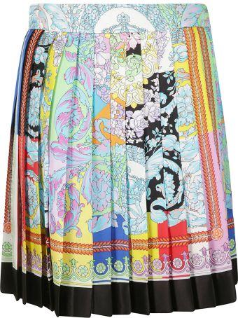 Versace Pleated Skirt