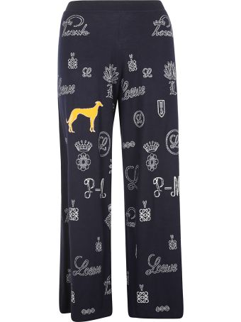 Loewe Greyhound Wide-leg Trousers