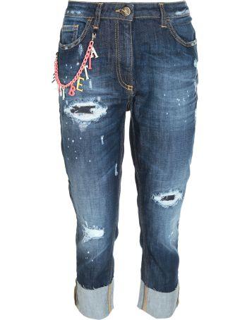Elisabetta Franchi Celyn B. Elisabetta Franchi For Celyn B. Distressed Jeans