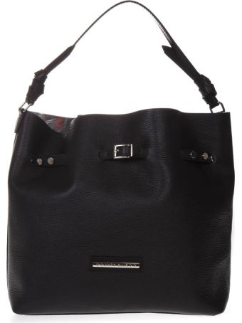 Marc Ellis Concy Bucket Bag In Black Leather