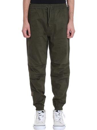 Maharishi Green Cotton Pants