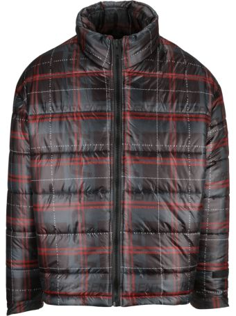 REPRESENT Checked Down Jacket