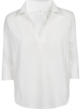 Zanone Three-quarters Sleeve Top
