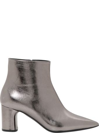 Casadei Mettalized Ankle Boots