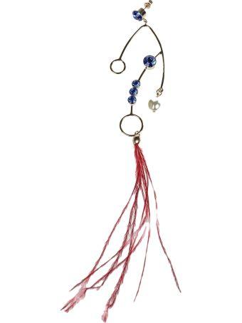 Dries Van Noten Embellished Earrings