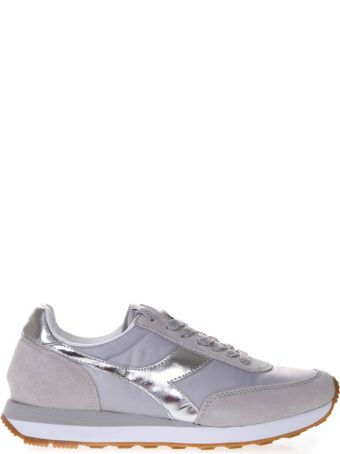 Diadora Heritage Koala H Metallic Sneakers W In Gray Fabric