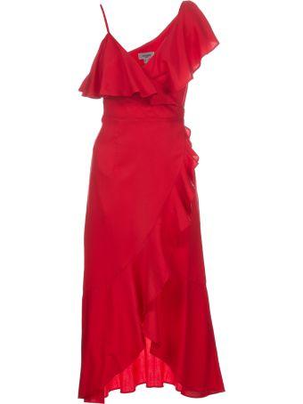 Jovonna Zaida Ruffle Wrap Dress