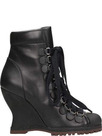 Chloé River Wedge Lace-up Boot