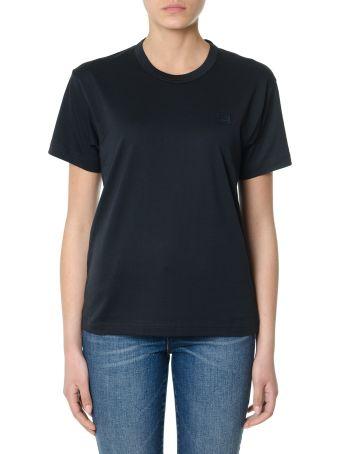 Acne Studios Nash Face Black Cotton T-shirt