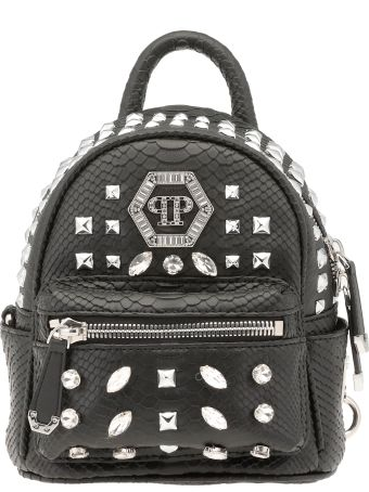 Philipp Plein Crystals Backpack