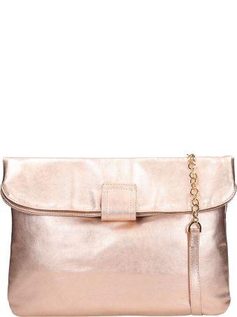 L'Autre Chose Powder Pink Laminated Leather Tote Bag