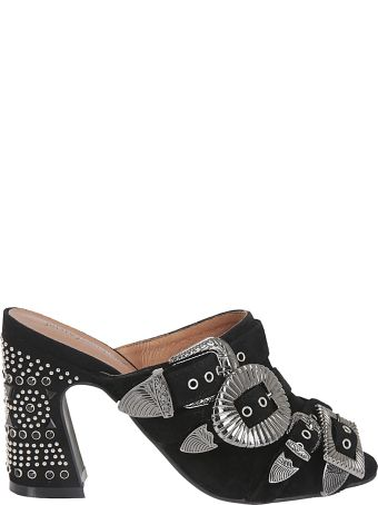 Jeffrey Campbell Buckled Mules