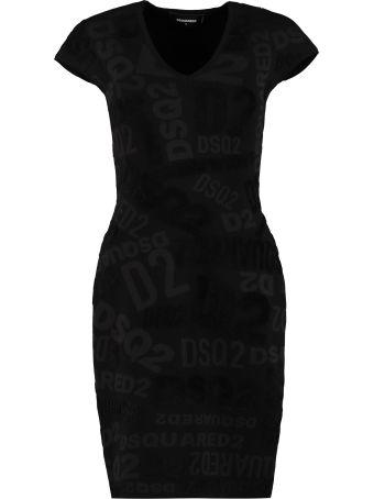 Dsquared2 Stretch Sheath Dress