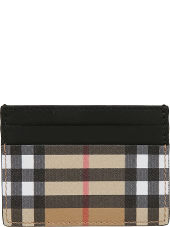 Burberry Checked Classic Card Holder