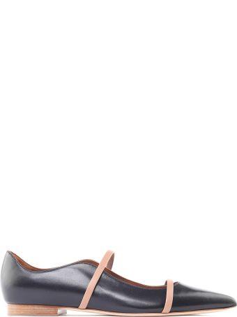 Malone Souliers Maureen Pump Leather Ballet Flats
