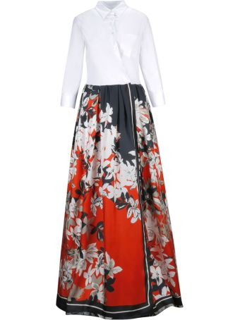 Sara Roka Floral Print Dress