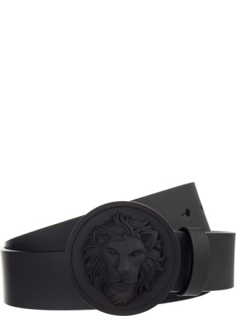 Versus Versace  Genuine Leather Belt Testa Di Leone