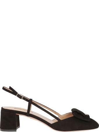 Aquazzura Ankle Strap Mules